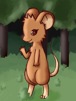 Mousey - unsaturated by moon-chibi