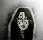Ace Frehley by aerokay