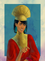 The Emperor's New Groove - Kuzco by paintedcastle