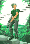 green by lushan