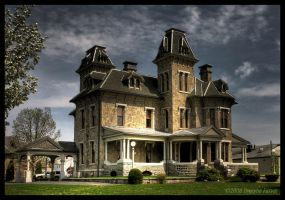 Jackson Mansion Berwick PA by DwayneF