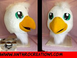 Baby Griffin Head New by AtalontheDeer