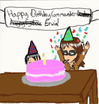 SnK Birthday Erwin by wolfdrawer455567