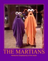 Awesome Cosplayer(s): The Martians by MasterRBG