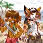 TLAPD-Kami and Chee by kamicheetah