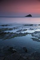 150410 Wembury Sunset by InsaneGelfling