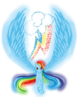 Rainbow Dash by MollyFisen