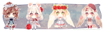 [CLOSED] Adoptable: Rosary XVI - XIX by Staccatos
