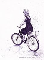 Summer bikeride by ChristinaMandy