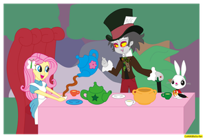 Fluttershy in wonderland equestria girls by CoNiKiBlaSu-fan