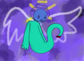 FishBowl Ghost by Blue-Sulphur