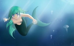 Mermaid II by KisaraGirl