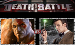 Kratos vs. The Doctor by ScarecrowsMainFan