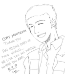 Cory Monteith by char0118