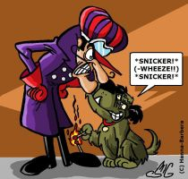 Dastardly and Muttley by Smigliano