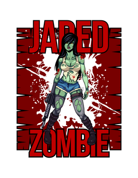 jaded zombie by pandaautis