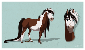 Icelandic Pony Design trade by Wild-Hearts