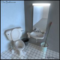 The Bathroom by Meletis