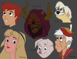 25 - The Black Cauldron by julvett