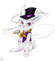 The White Rabbit by KDdreamer