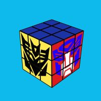 Rubik's cube by WitchBehindTheBush