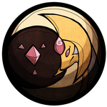 cresselia stained glass by burmalloo
