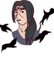 Itachi by Ana23Banana