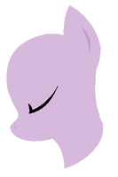 MLP Base- Minimalist Pony by Bases-4-Bronies