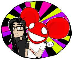 Skrillex and Deadmau5 by E--D--D