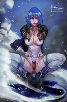 Motoko Kusanagi / Ghost In The Shell by Hassly