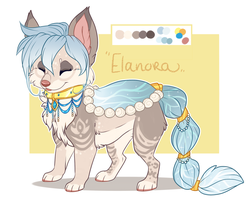 Elanora reference | Foxpond MYO by Maonii