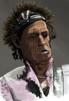 Keith Richards by Rodriguezzz