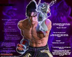 Jin Kazama 2010-08-24 by Blood-Huntress