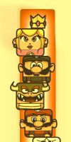 :Nintendo: Blocks Bookmark by take-a-byte