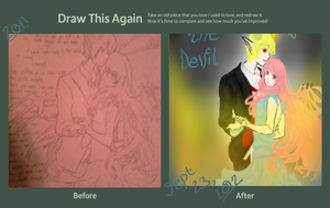 Draw this Again Entry: A Dance With The Devil by AbominalSnowDemon