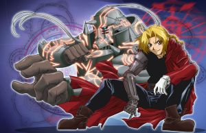 FMA Fan Art by voltesfibz