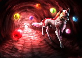 Cave of Light by Demeritas