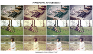 Photoshop Actions Set 3 by wandadomingo
