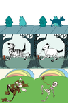 puppies and zebras oh my by yorkchop