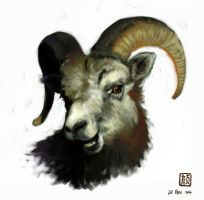 Mr Bighorn by wredwrat