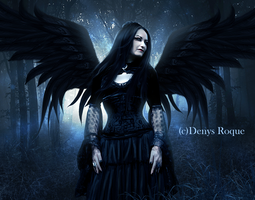 Miss Raven II by DenysRoqueDesign