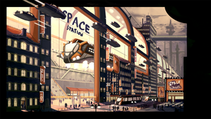 Space Station by BiwerVincent