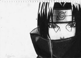 Uchiha Itachi by negative-creeq