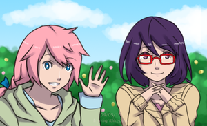 AoH - S6 Spring Fashion Contest Banner by Irismightlikepink