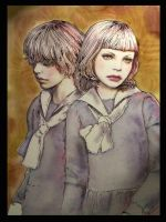 The Evil Twins by Petite-Madame