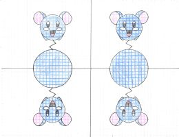 Math Project: Azurill by TapinAnts