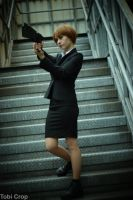 Psycho Pass Cosplay by slayer500