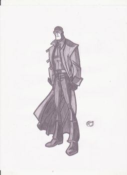 Cyclops Sketch by rob-T512