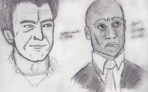 Walter Bishop and Broyles by Proi