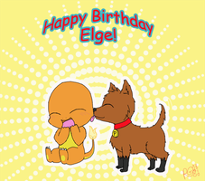 Happy Birthday Elge by Raphaelsgirl